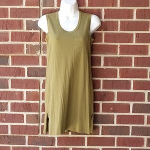 J crew summer olive dress
